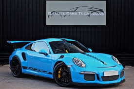 porsche blue gt3 used 2016 porsche 911 gt3 991 gt3 rs pdk for sale in south
