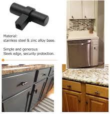 kitchen cupboard handles in black homdiy kitchen cabinet handles black drawer pulls hdt16bk