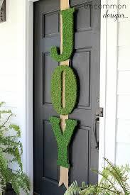 moss covered letters garnet hill inspired moss letters door decor