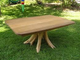 tree root table cedar sustainable woodwork