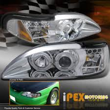 1994 mustang gt headlights for 1994 1998 ford mustang gt v6 cobra halo projector led