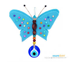 butterfly wall ornament with evil eye wall ornaments evil eye