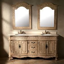 riviera 72 u201d antique double sink bathroom vanity ridgetop
