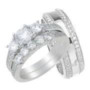 His And Her Wedding Rings by Wedding Rings His U0026 Her Sets