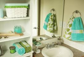 Aqua Towels Bathroom Tiny Bathroom Make Over And A Little U0027how To U0027 Alittlesweetness