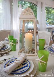 spring and summer table settings
