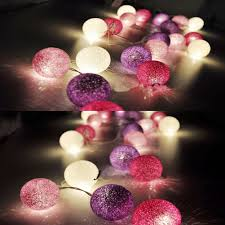 String Lights Balls by Compare Prices On Cotton Ball String Light For Xmas Feast Online