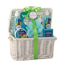 spa baskets bath and gift sets best healthy gift baskets spa