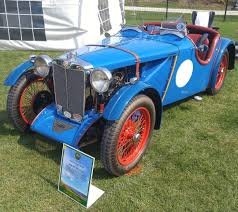 this 1946 mg tc pays homage to the mg racers of the 1930 u0027s and was