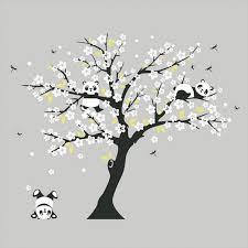 white cherry blossom white cherry blossom tree wall stickers nursery decorative