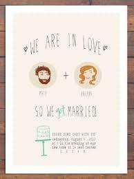 elopement invitations elopement announcement mes specialist