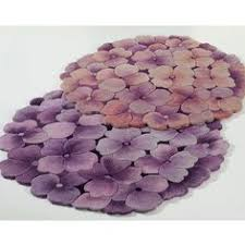 delia bloom flower shaped round rugs round rugs lavender and