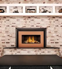 living room red brick wall plus vented gas fireplace also wooden