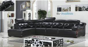a23 l shape genuine leather sofa modern home furniture office