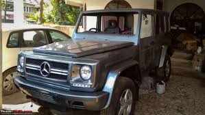 dilip chhabria modified jeep this modified force gurkha turned into a mercedes benz g class