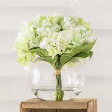 hydrangea arrangements hydrangea flower arrangements you ll wayfair