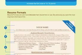The Best Font For Resume by Best Proper Font Size For Resume Ideas Simple Resume Office
