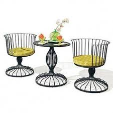 Retro Patio Furniture Sets Iron Patio Furniture Sets Foter