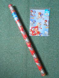 hedgehog wrapping paper sonic the hedgehog wrapping paper by boomsonic514 on deviantart