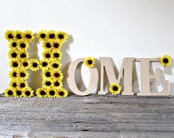 Sunflower Decorations Sunflower Home Decor Etsy