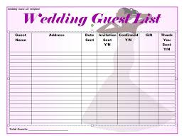 wedding itinerary for guests 35 beautiful wedding guest list itinerary templates