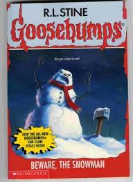 beware snowman goosebumps 51 stine