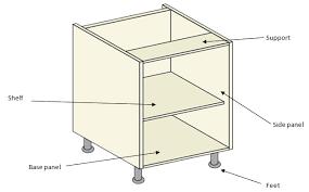 Kitchen Cabinet Carcass Specification - Kitchen cabinet carcase