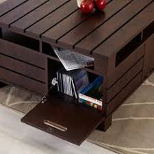 furniture of america crete vintage walnut coffee table furniture of america nano multi level coffee table cappuccino products