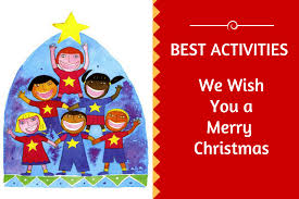 merry christmas activity love sing