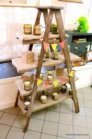 Best 25 Ladder Shelves Ideas by Best 25 Ladder Display Ideas On Pinterest Display Ideas Guest