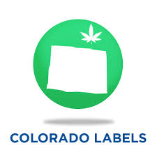 Colorado Flag Marijuana Rx Marijuana Compliance Warning Labels Marijuana Packaging