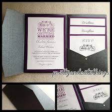 wedding invitation pockets pocket envelopes for wedding invitations 5189