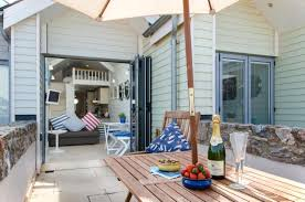 Shaldon Holiday Cottages by The Best Beach Hut Accommodation In The Uk Telegraph Travel