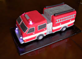firetruck cakes elizabeth custom cakes gourmet 3d truck cake
