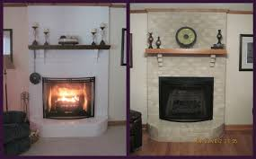 cute fireplace paint colors on interior with painting
