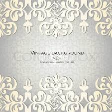 vintage background antique greeting card invitation with lace