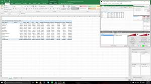 how to create a table in excel 2016 how to create a pivot table using microsoft excel 2016 youtube