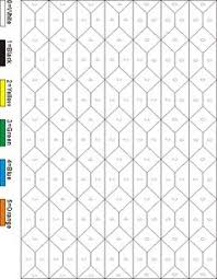 hard colors numbers printable hard color number coloring