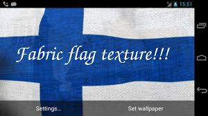 Finnish Flag 3d Finland Flag Live Wallpaper Android Apps On Google Play
