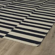 Black And White Stripped Rug Dhurrie U0026 Flatweave Rugs Shades Of Light