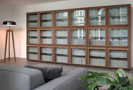 Ikea Bookcases With Glass Doors Wonderful Bookcase With Glass Doors Dans Design Magz To Buy