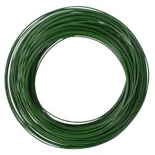 floral wire the hillman 50 ft 24 green floral wire 57223