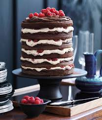 gourmet cakes chocolate raspberry layer cake gourmet traveller
