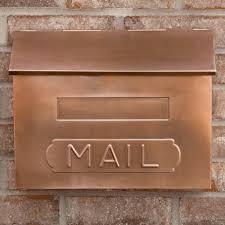 Rustic Iron Mail Slot Outdoor - horizontal