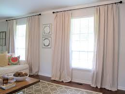curtains from drop cloths live the home life
