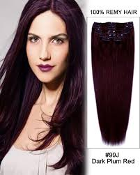 remy human hair extensions 20 11pcs clip in remy human hair extensions 99j