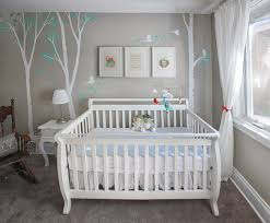 chambre bebe moderne unisex nursery with custom renovation finishing and painting