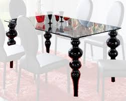 European Dining Room Furniture Modern Glass Top Dining Table European Design Made In Spain 33d222