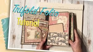 trifold folio tutorial youtube