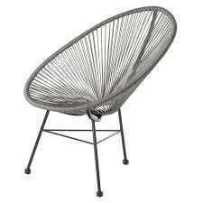 Lounge Chair Patio Acapulco Lounge Chair Grey Wire Basket Patio Chair Marie
